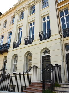 The stunning Regency facade