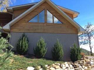 Immaculate one bedroom cabin with spectacular view, Waynesville