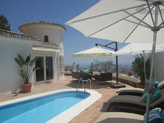 Beautiful villa, private pool, stunning views, Mijas Pueblo