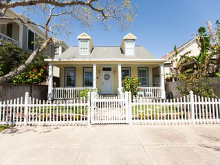 Gulf Coast Cottage-2 Blocks to Beach & Pier 4/3.5