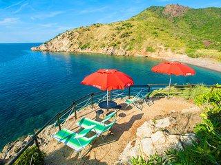 Villa con terrazza panoramica sul mare, Elba