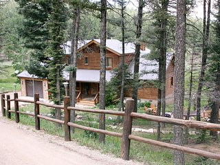 Luxury Mountain Home, Hot Tub, Beautiful Views, Outdoor Firepit, Angel Fire
