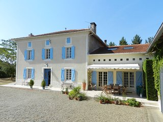 Maison Pyron & Le Grenier with Solar-Heated Private Pool