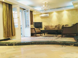 3 bedroom luxury flat for rent in cairo old maadi