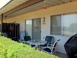 Club Circle Comfort Condo w/ Patio: 2BR, 2BA, Access to Pool & Spa, Borrego Springs