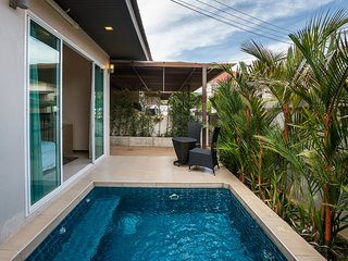 The Ville Jomtien Pool Villa  Resort 2 Bed (B 24), Jomtien Beach