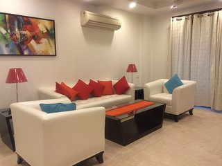 Evergreen- 3 BHK Service Apartment in Saket, New Delhi