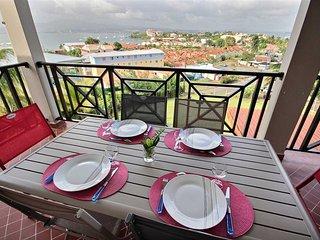 Villa Cécia, villa familiale aux Trois Ilets, plage et resto à pied