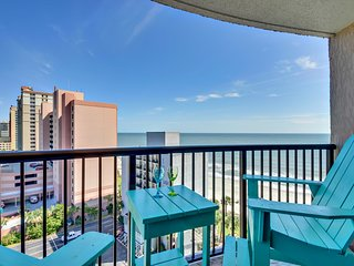 "COMPASS COVE OCEANFRONT/HUGE BALCONY/60""TVXBOX1PET, Myrtle Beach"
