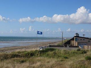Maison 100 m superbe plage de sable, wifi gratuit, Gouville-sur-Mer