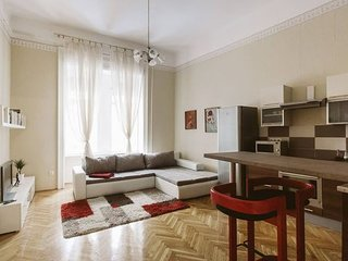 Bourgeois, elegant and spacious downtown apartment, Budapest