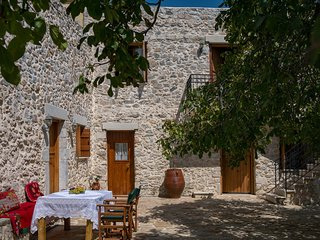 Hosting guests in a renovated 18th century house, Chania Town