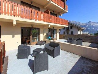 Appartement avec 40m2 de terrasse
