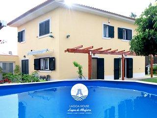 Lagoa de Albufeira, Sesimbra,LagoaHouse_ Moradia c/ jardim, piscina,barbecue