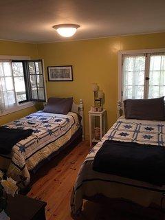 The 'birch' room, twin Casper memory foam beds new 2015