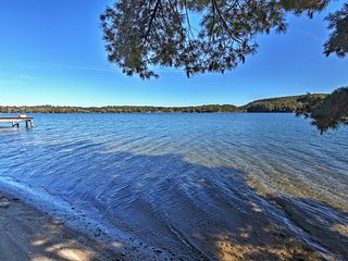 3BR Rushford Lake House w/Deck, Dock Nearby