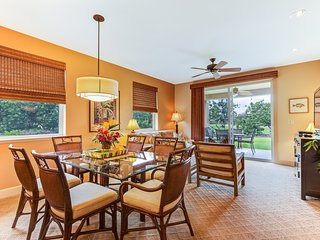3 Bedroom Hali'i Kai Ground Floor Condo with Golf, Waikoloa