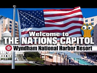 National Harbor ツ 1BR Condo at Wyndham Resort!