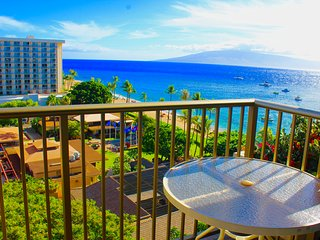10th Floor Studio Condo at The Whaler on Ka'anapali Beach