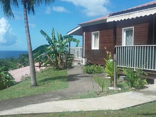 Tropical bungalow near the beach, Bouillante