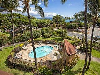 Maui Vista #1-206 Close to Beach, Great Tennis Courts, Great Rates, Sleeps 4, Kihei