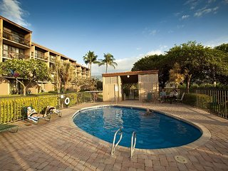 Maui Vista #2-107, Ground Floor, Steps from Pool, Kamaole Beach I, Sleeps 4