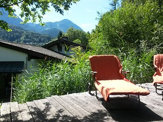 spectacular mountain view   Schönau  Berchtesgaden