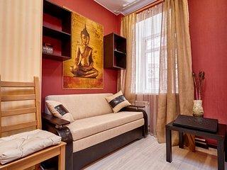 """Studio-apartment """"GAUTAMA""""-2, St. Petersburg"""