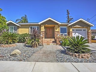 New monthly rate of $6,500! 3BR San Diego House w/Tecolote Canyon Views!