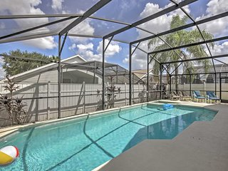 NEW! 6BR Kissimmee Villa w/Private Pool & Lanai!