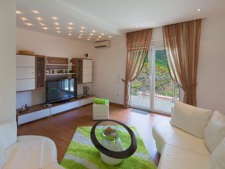 Deluxe apartment 4 with Sauna, Pool and Sea view, Becici
