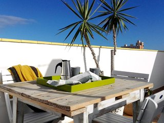 Lovely apartment with big terrace beside the beach, Las Palmas de Gran Canaria