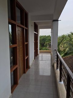 Spacious and sea view balcony