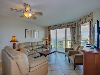 Spacious 2nd row condo with wonderful ocean view and great amenities