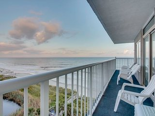 Private Oceanfront Wrap Around Balcony