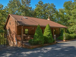 Log home with covered decks in ideal location!