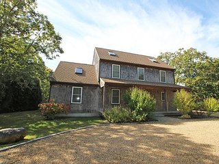 CENTRALLY LOCATED HOME IN EDGARTOWN WITH CENTRAL AIR CONDITIONING