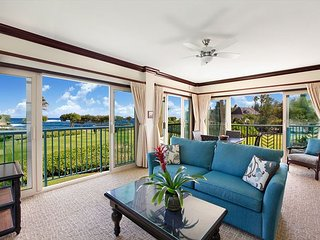 G201 Executive SUITE! ocean/ Large/ FAST wifi Penthouse, Kapaa