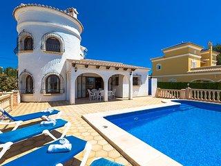 Villa Bram en Calp,Alicante para 6 huespedes