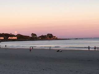 Take a walk on the beach,  enjoy the sunset, beautiful Kennebunk beaches are less than 1 mile away.
