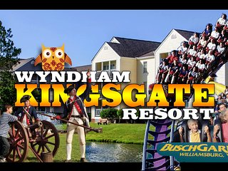 Wyndham Kingsgate Resort ツ 1BR Sleeps 4 Condo, Williamsburg