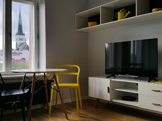 Amazing studio with aircon in Rotermanni quarter, Tallin