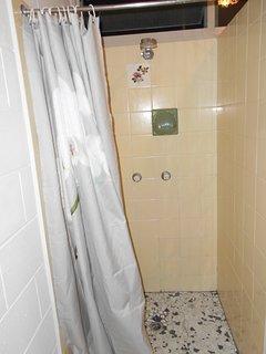 Squeaky clean bathroom