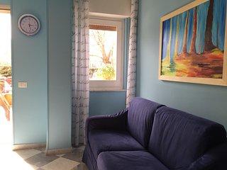 il divano letto in soggiorno