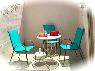 Terrasse, Wifi, climatisé