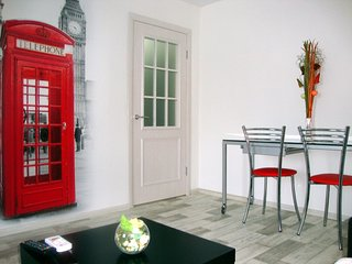 London style apartment in the city center, Samara