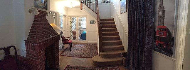 Downstairs very spacious hall