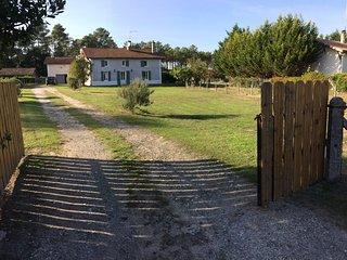 Maison de charme entre Bordeaux et Arcachon, Lugos