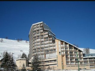 Studio 4pers plein centre Deux-Alpes avec wifi.