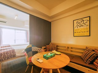 KM 1 Bedroom Apartment near Kyoto Station B